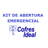 Kit emergencial cofres Ideal